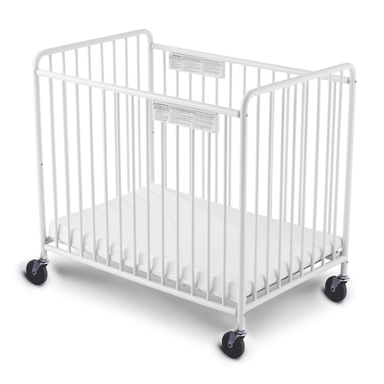 Foundations Compact Little Dreamer EasyRoll Crib