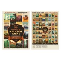 59 Postcards of National Parks (Other)