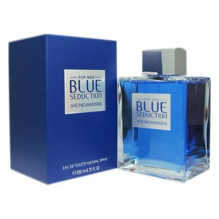 Banderas Blue Seduction for Men 6.75 oz EDT (Seduction Kit)