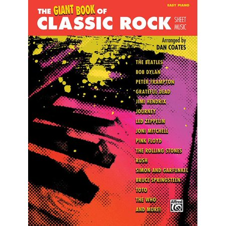The Giant Book of Classic Rock Sheet Music (Paperback)