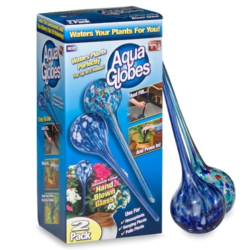 Aqua Globes AG011706 Glass Plant Watering Bulbs