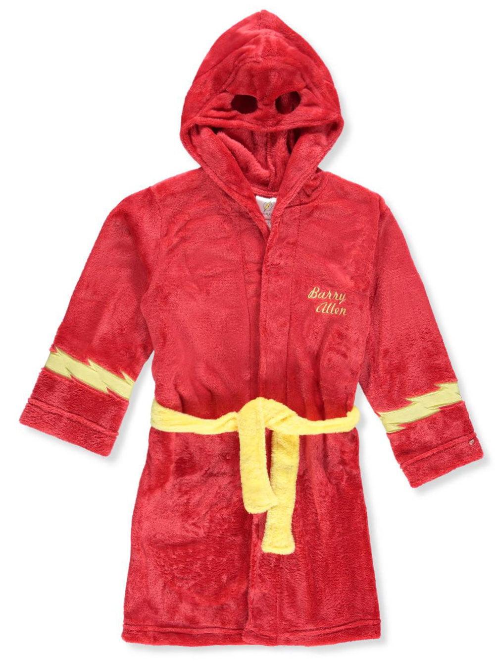 Justice League Boys Velvet Fleece Robe K183351JL