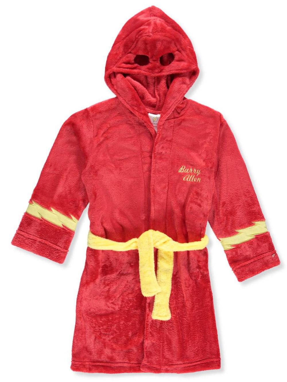 DC Comics Flash I am Barry Allen Plush Robe