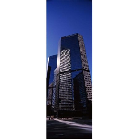 Panoramic Images Ppi145665l Bank Building In A City  Key Bank Building  Denver  Colorado  Usa Poster Print By Panoramic Images   12 X 36
