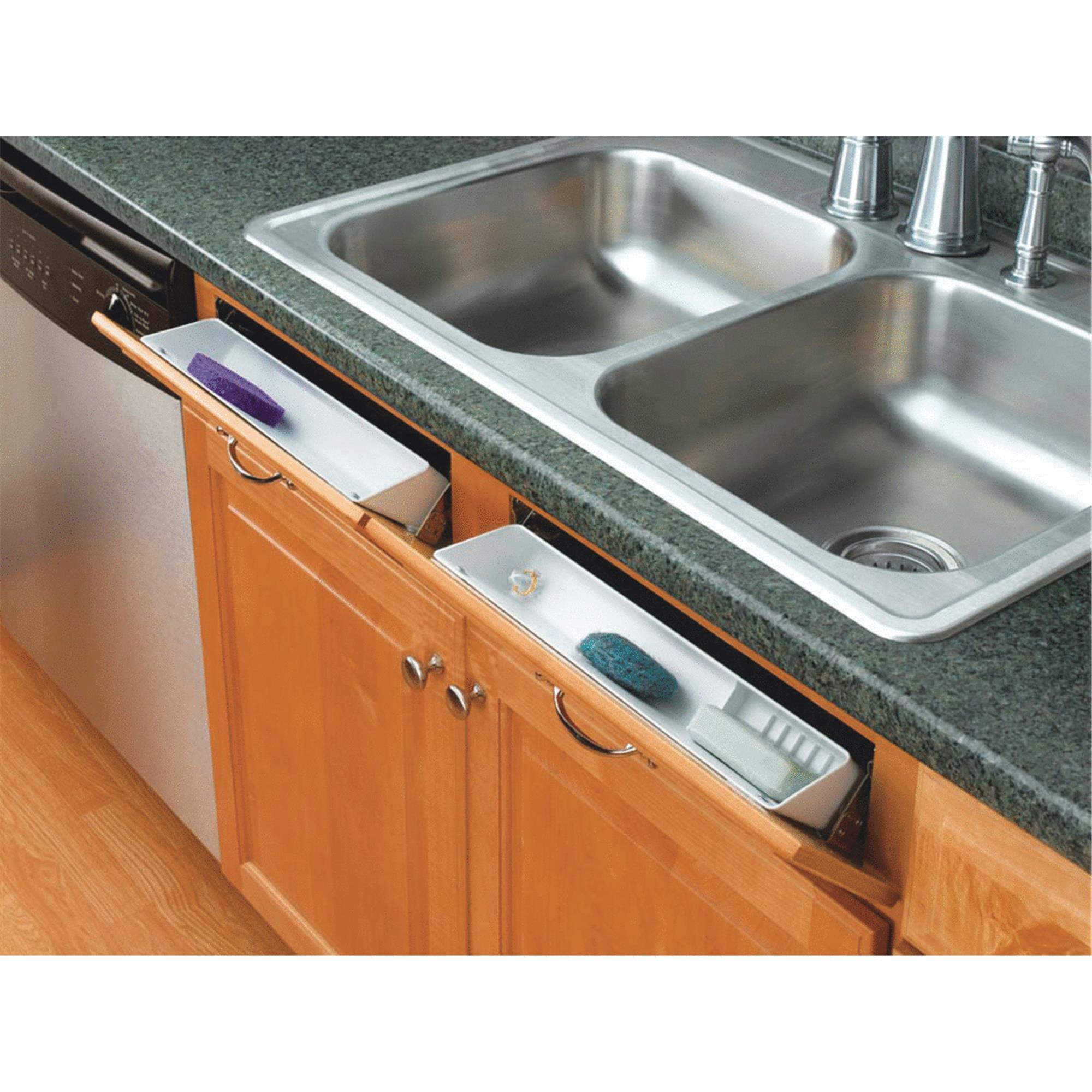 "Rev-A-Shelf 11"" Tip-Out Front Sink Tray Set"