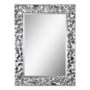 Ren Wil Mt1126 Taylor Urban Glam Couture Boutique Wall Mirror - Chrome