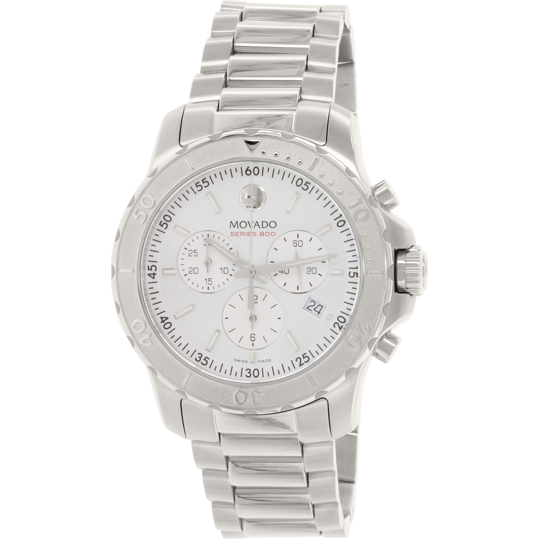Men's 800 2600111 Silver Stainless-Steel Swiss Quartz Watch