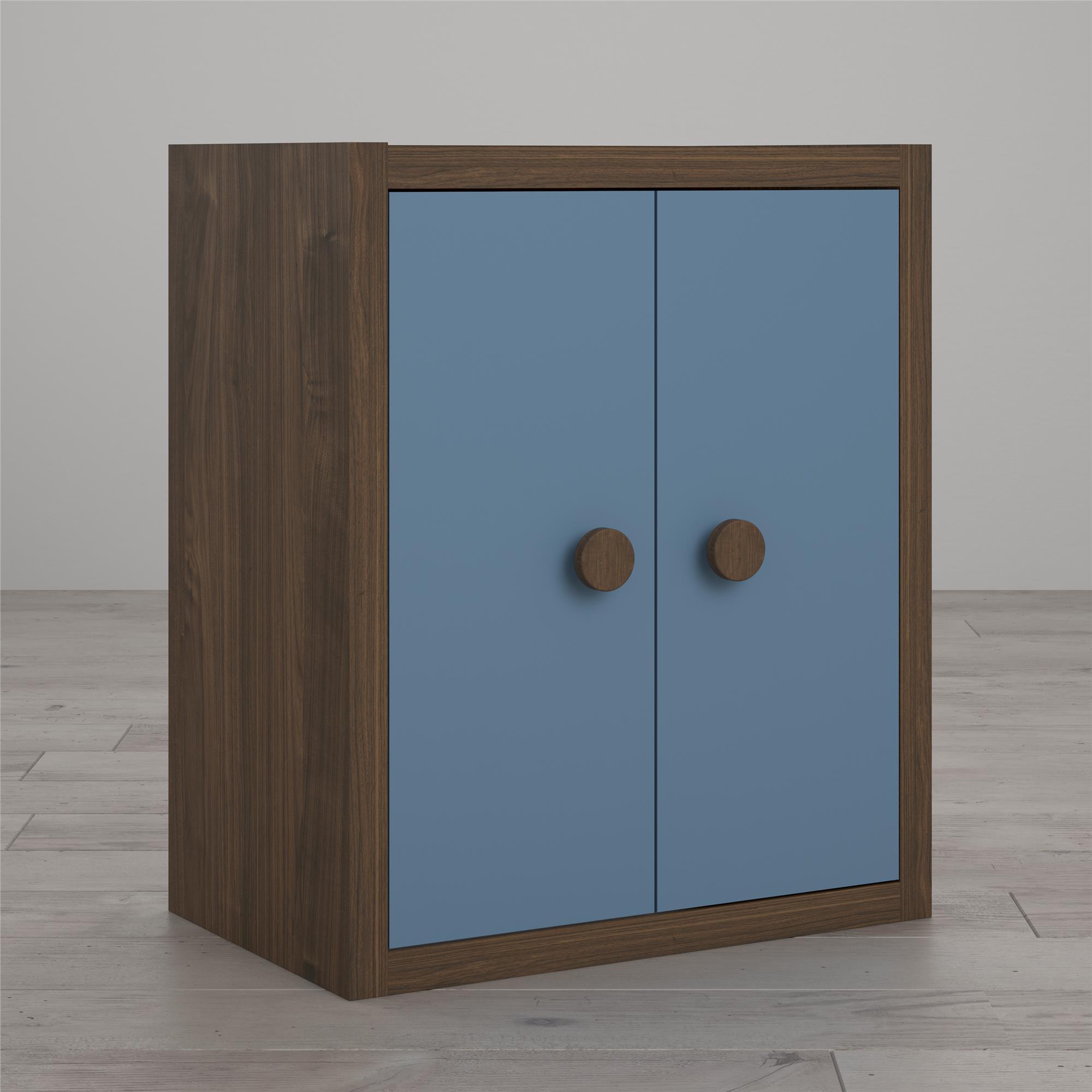 Little Seeds Sierra Ridge Terra Modular Bookcase with Doors, Multiple Colors