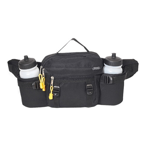 Everest Unisex  Sport Bottle Holder with Waist Strap BH14 Black Size OSFA