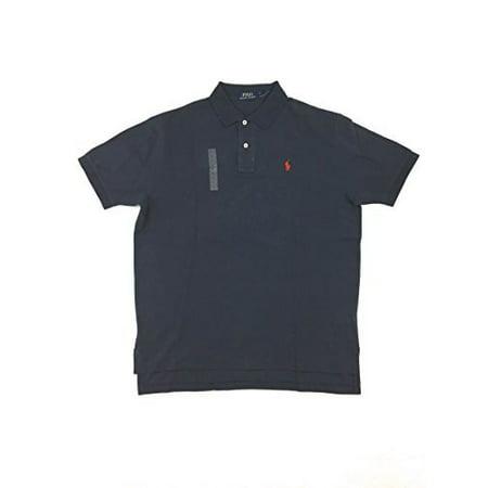 Polo Ralph Lauren Men Classic Fit Pony Logo Mesh T-Shirt (Small, Newport (Pony Mens Classic Bb)