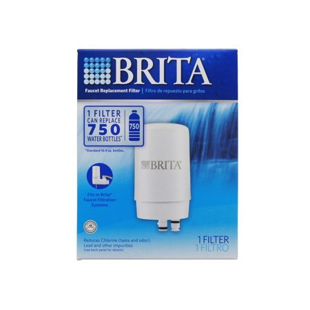 Brita 42401 On-Tap FR-200 Faucet Filter Replacement Cartridge - White ()