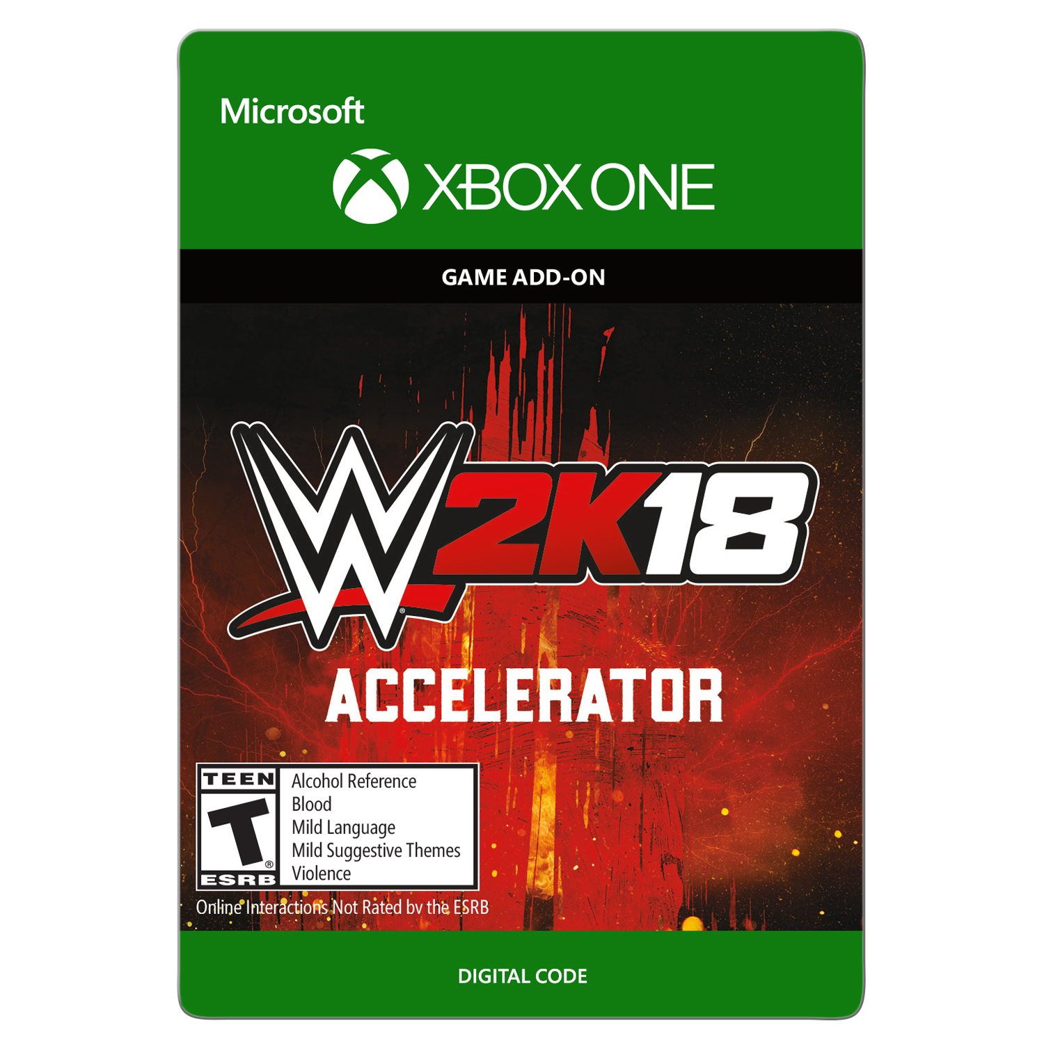 Xbox One WWE 2K18: Accelerator (email delivery)
