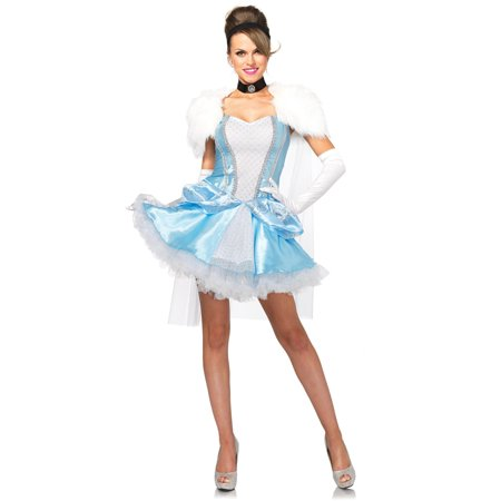 Leg Avenue Women's Slipper-less Sweetie Princess Cinderella Halloween Costume - Cinderella Costume Women