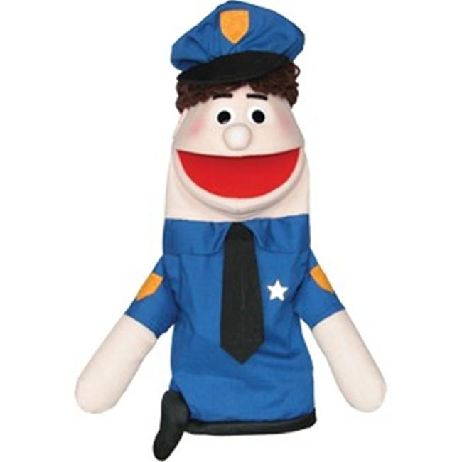 Get Ready Kids MTB435C Half Body Character Puppets Officer Mike Caucasian