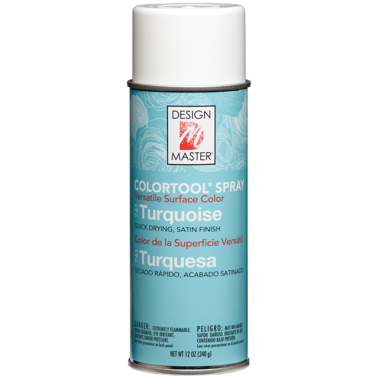 Colortool Spray Paint 12oz-Turquoise