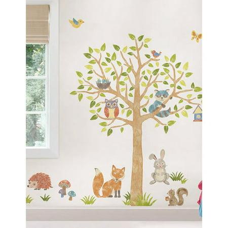 wall pops woodlands super wall art decals. Black Bedroom Furniture Sets. Home Design Ideas