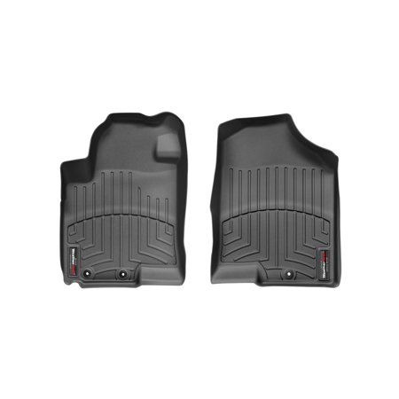 Weathertech (USA) WTC442111 Floor Liner DigitalFit (R) Molded Fit; Raised Channels With A Lower Reservoir; Black; High-Density Tri-Extruded Material; 2 Piece - image 1 de 1