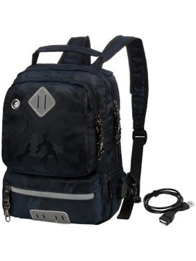 067869c4d7c8 Product Image Vbiger School Backpack Multi-purpose Crossbody Bag Large  Capacity Sling Bag Reflective Travel Daypack for