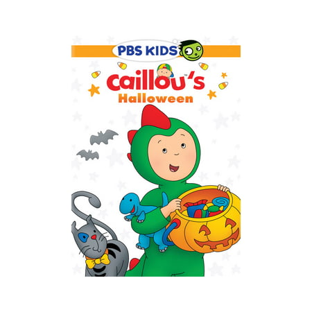 Caillou: Caillou's Halloween (DVD) - Childrens Halloween Tv Shows 2017