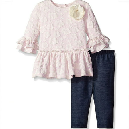 New Baby Girl Pink Lace Top Playset Pretty Baby Costume