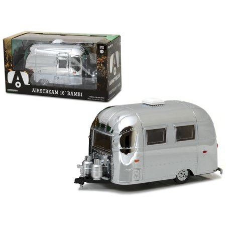 airstream bambi 16' camper trailer chrome for 1/24 scale model cars and trucks 1/24 diecast model by - Chrome Truck
