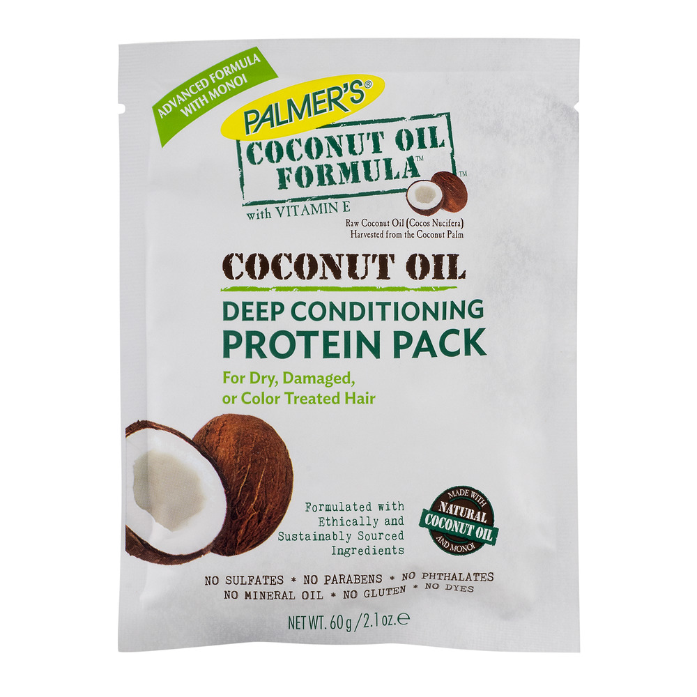Palmer's Coconut Oil Formula with Vitamin E Deep Conditioning Protein Pack, 2.1 OZ