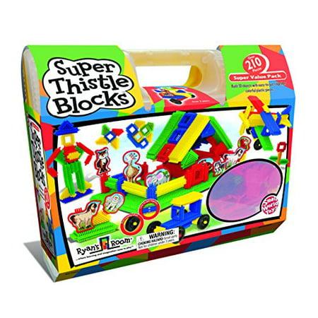Small World Toys Ryan`s Room - Super Thistle Blocks 210 Pc. Set - image 2 of 2