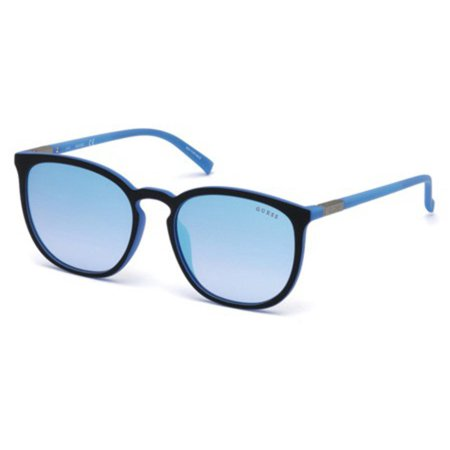 c64467999 guess - guess eye candy round mirrored sunglasses - Walmart.com