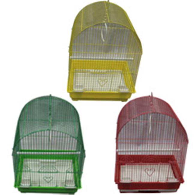 Iconic Pet Assortment YC Dome Top Bird Cage Assorted - Me...