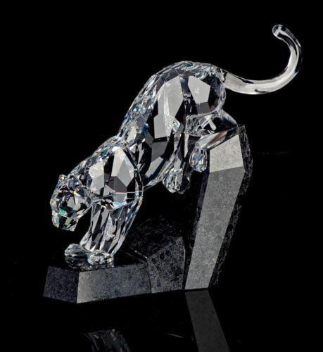 Swarovski Crystal Animal Figurine Panther #5155678
