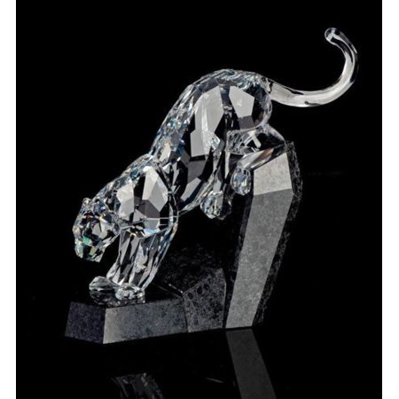 dabcbb6c2 Swarovski Crystal Animal Figurine Panther #5155678 - Walmart.com