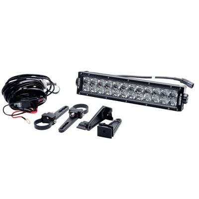 slasher products 3d series led light bar and wiring harness kit 13 5