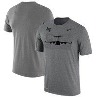 Air Force Falcons Nike C-17 Globe Master III Performance T-Shirt - Gray