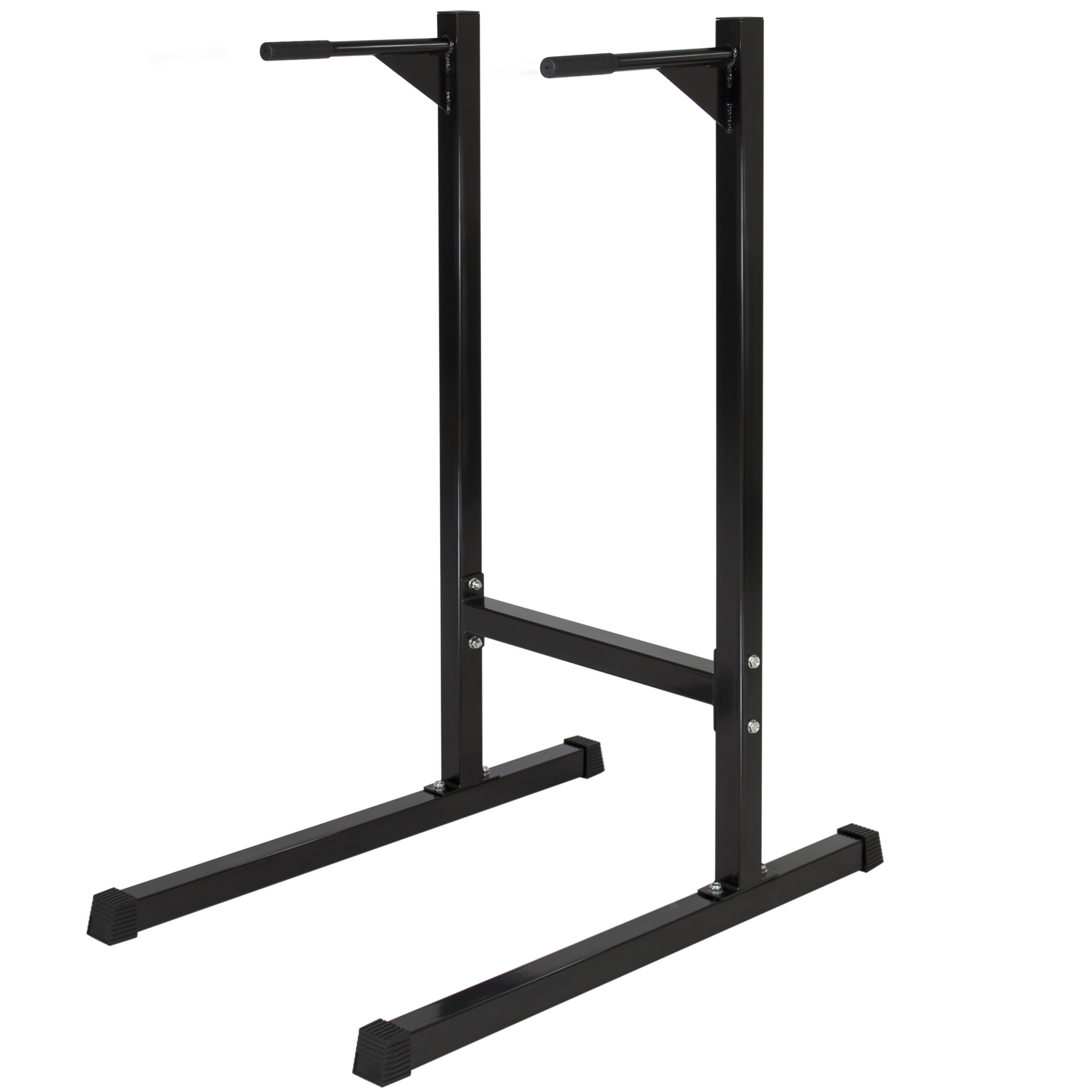 Best Choice Products Dipping station Dip Stand Pull Push Up Bar ...