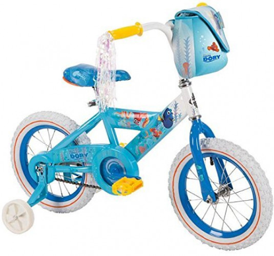 Girls 14 inch Huffy Disney Pixar Finding Dory Bike