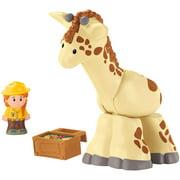 Little People Giraffe with Zookeeper Figure