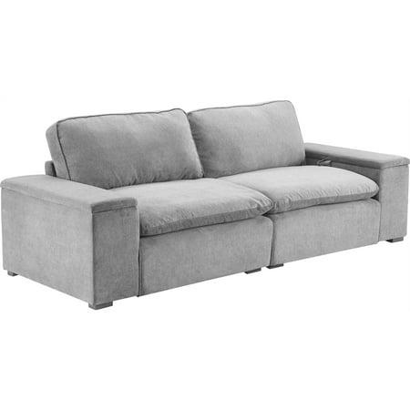 Truly Home Modular Storage Sofa Gray