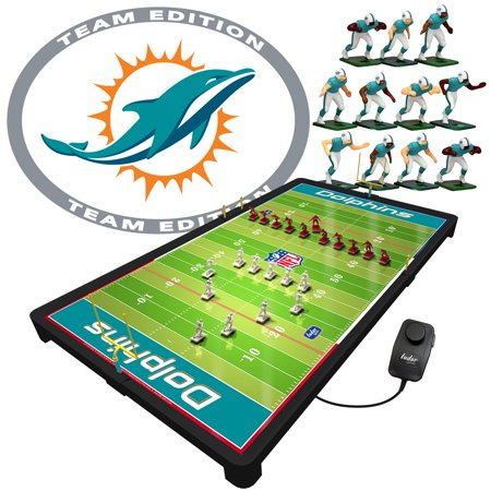 Miami Dolphins NFL Deluxe Electric Football Game
