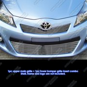 Compatible with 2012-2014 Yaris SE Main Upper Billet Grille Grill Insert T61225A