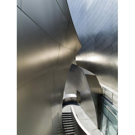 Walt Disney Concert Hall, Part of Los Angeles Music Center, Frank Gehry Architect, Los Angeles Print Wall Art By Ethel Davies (Frank Gehry Architect)