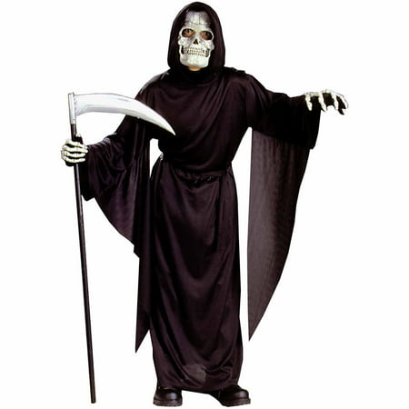 Horror Robe Child Halloween Costume - Best Grim Reaper Costume