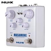 NUX MASAMUNE & Kompressor Analog Boost Compressor Guitar Effect Pedal Dual Footswitch True Bypass