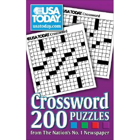 USA TODAY Crossword : 200 Puzzles from The Nation's No. 1 Newspaper Crossword Puzzle Books For Kids