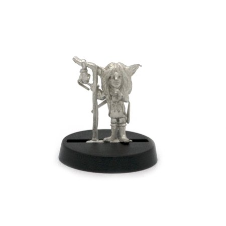 Stonehaven Gnome Girl Miniature Figure for 28mm Table top Wargames - Made in
