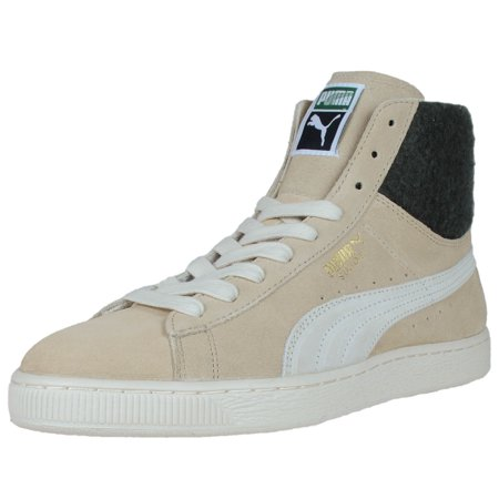 PUMA SUEDE CITY FASHION SNEAKERS SEMOLINA WHITE SWAN 355374 03