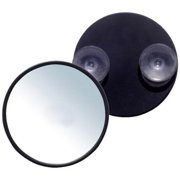 Rucci  5-inch Round Suction Cup 12x Magnification Mirror