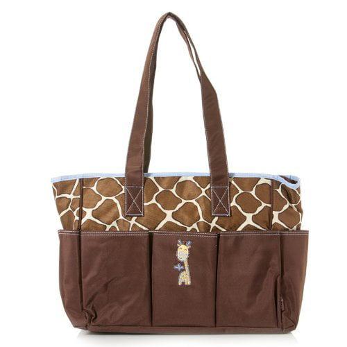 Baby Boom Giraffe Tote Diaper Bag by Baby Boom