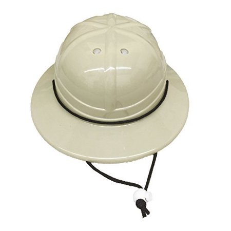 GiftExpress Kids' Hard Plastic Safari Pith Helmet (Gray Tan)](Safari Hat Kids)