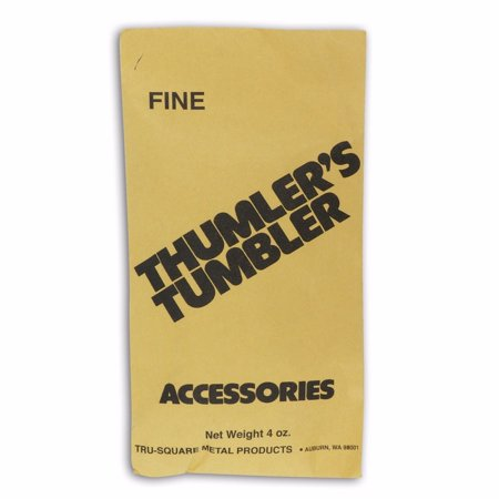 Thumlers Tumbler 4 oz of Rock Tumbling Fine Grit for Second Stage - Thumlers Tumbler Rock