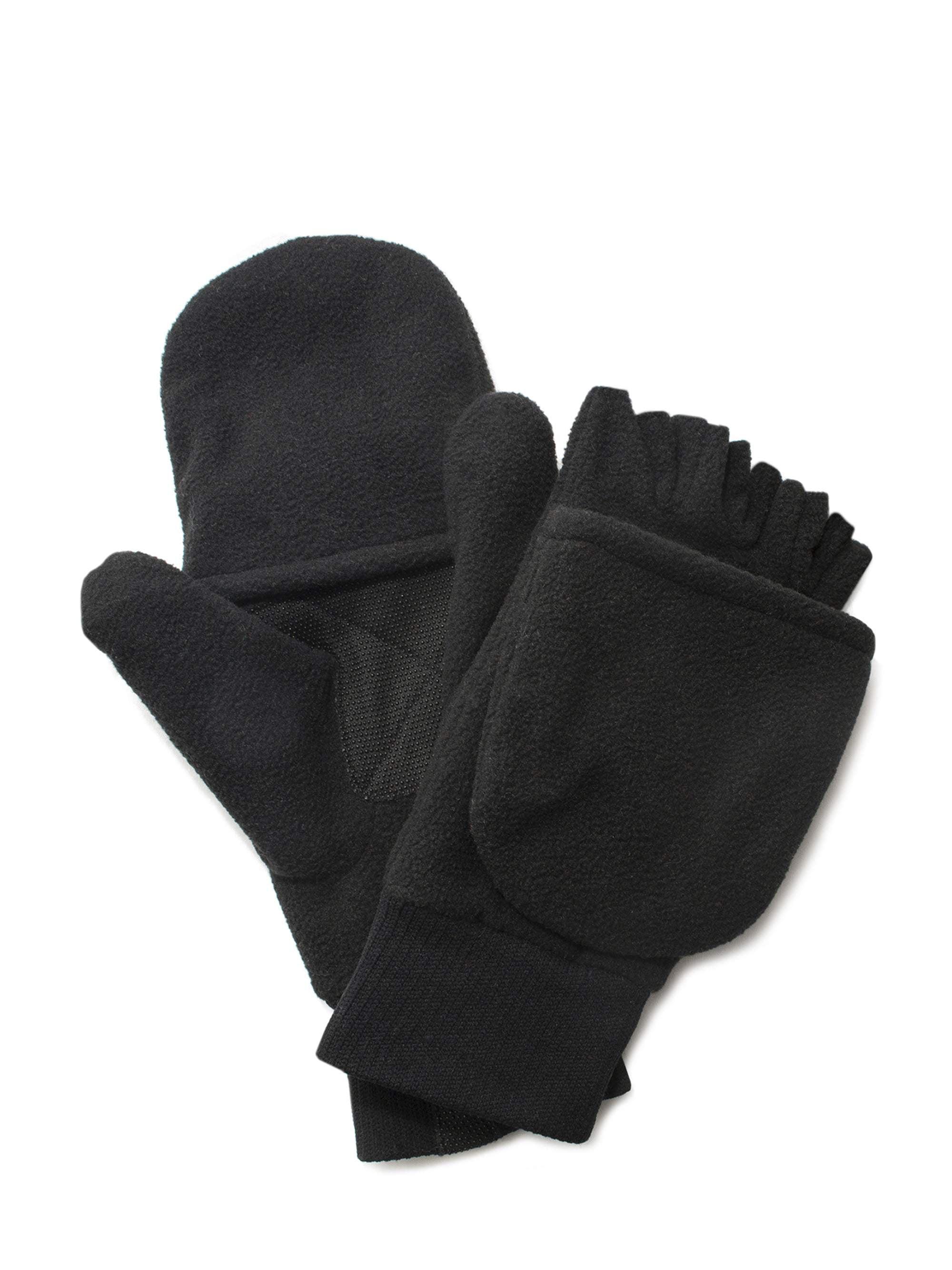 QuietWear Fleece Flip Mitten with 40 Gr Thinsulate by Overstock